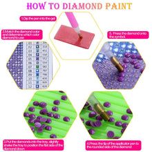 Load image into Gallery viewer, DIY 5D Diamond Painting by Number Kit for Adult - findurtrend