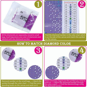 DIY 5D Diamond Painting by Number Kit for Adult - findurtrend