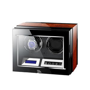 Luxury Automatic Rotations Wooden Watch Winder - findurtrend
