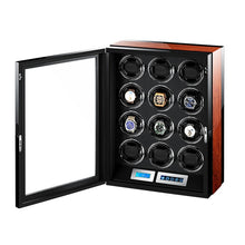 Load image into Gallery viewer, Luxury Automatic Rotations Wooden Watch Winder - findurtrend
