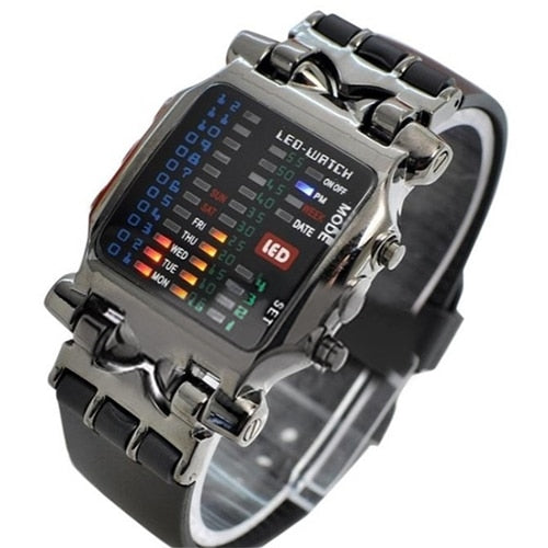 Binary LED Digital Watches - findurtrend