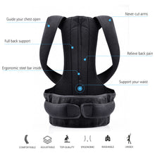 Load image into Gallery viewer, UNISEX MAGNETIC CORSET BACK BRACE SUPPORT POSTURE CORRECTOR - findurtrend