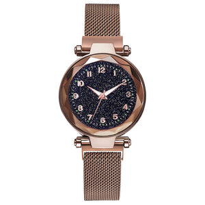 Luxury Magnetic Mesh Female Wristwatch - findurtrend