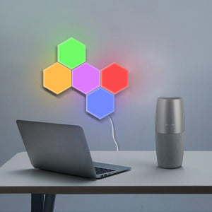 Touch Sensitive Colorful Magnetic Modular Quantum Lamp LED Night Light - findurtrend