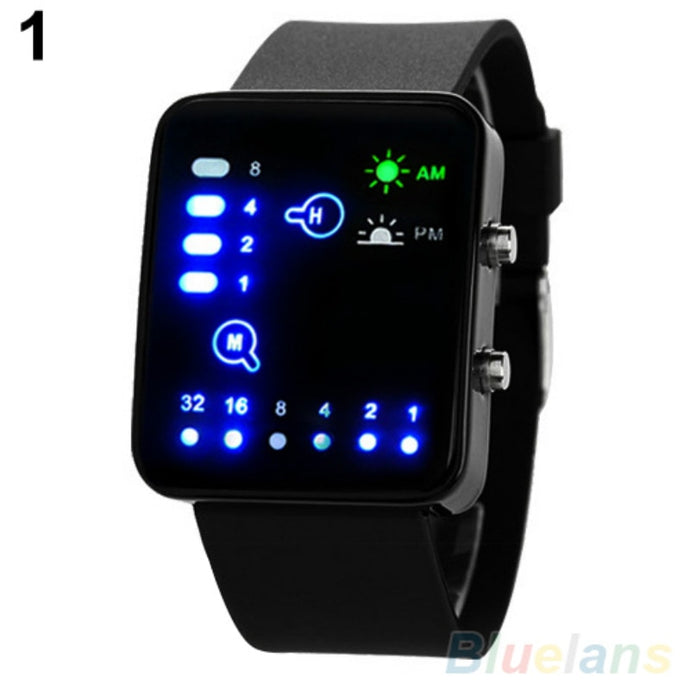Binary LED Wristwatches - findurtrend