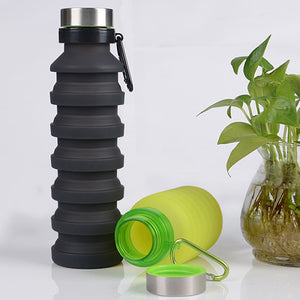 Silicone Collapsible Water Bottle 550ml - findurtrend