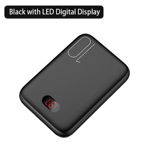 Mini Power Bank - 10000mAh LED Display Fast charging - findurtrend