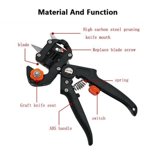 Pruning, Cutting, Grafting  Tree shears Cutting machine +2 blade garden tools - findurtrend