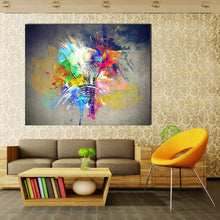 Load image into Gallery viewer, Colour Explosion Oil Painting - findurtrend