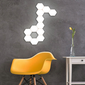 Quantum Lamp Touch Sensitive Magnetic Hexagons Lighting - findurtrend