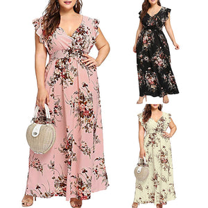 Floral Boho Maxi Dress - findurtrend
