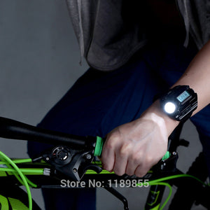 Waterproof LED Tactical Display Rechargeable Wrist Watch - findurtrend
