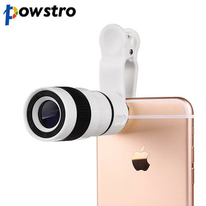 Powstro 8x Zoom Optical Phone Telescope - findurtrend