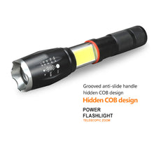 Load image into Gallery viewer, Tactical Military LED Flashlight Torch - Zoomable - findurtrend