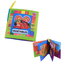 Load image into Gallery viewer, Baby Soft Cloth Books Early learning Educational Toys (Vegetable) - findurtrend