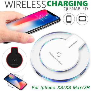 Ultra-thin Clear Mini Qi Wireless Charging Pad - findurtrend