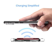Load image into Gallery viewer, Ultra-thin Clear Mini Qi Wireless Charging Pad - findurtrend