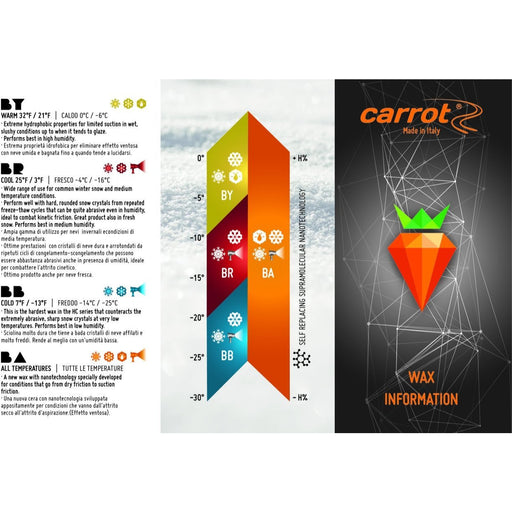 Carrot Base Red 500g -4 / -16 - Skidvalla.se