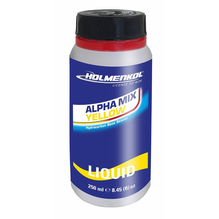Holmenkol Alphamix Yellow Liquid 250ml -0 / -4 - Skidvalla.se