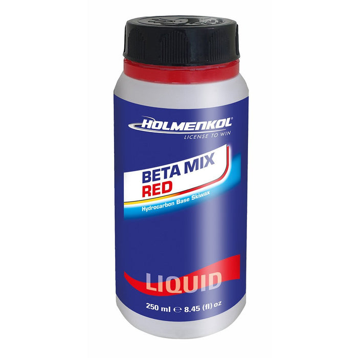 Holmenkol Betamix Red Liquid 250ml -4 / -14 - Skidvalla.se