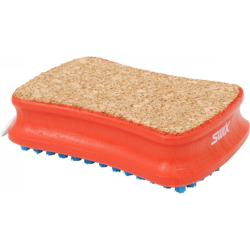 Rectangular Combi Brush, Cork/Nylon - Skidvalla.se