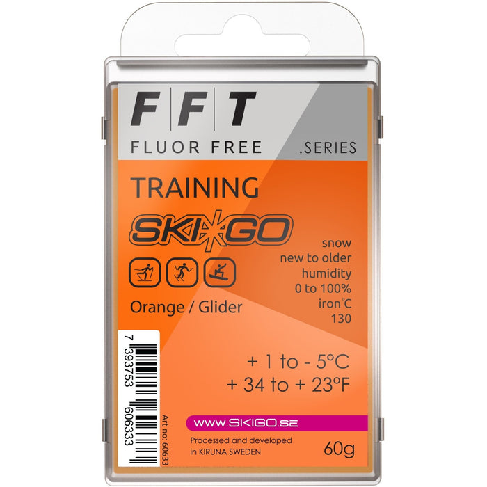 SkiGo FFT Training Orange 60g +1 / -5 - Skidvalla.se