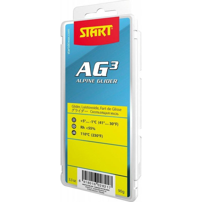 START ALPINE AG3 YELLOW 180g +5 / -1 - Skidvalla.se