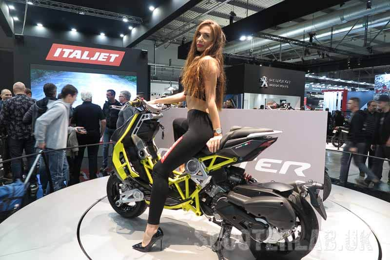 SLUK | 360º look around the 2020 Italjet Dragster