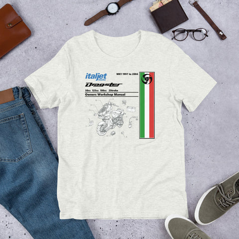 Italjet Dragster Workshop Manual T-Shirt