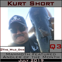 Kurt Short Mammoth Innovations Featured Angler of the Month July 2019 poster
