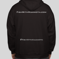 BLACKOUT sweatshirt hoodie from Mammoth Innovations fishing back view