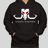 BLACKOUT sweatshirt hoodie from Mammoth Innovations fishing front view