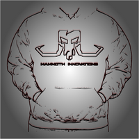 BLACKOUT sweatshirt hoodie from Mammoth Innovations fishing wireframe product card