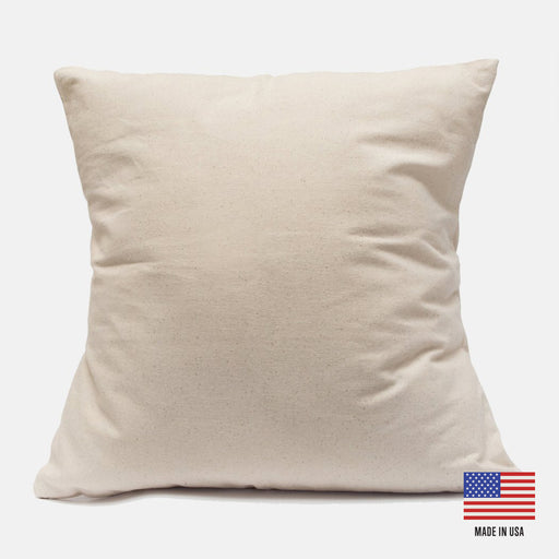 Canvas 18 Inch Pillow Case