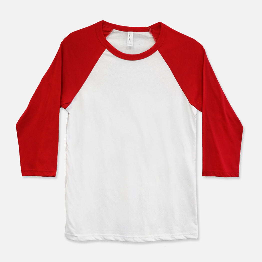 Bella Canvas Unisex Baseball T-Shirt - 3200