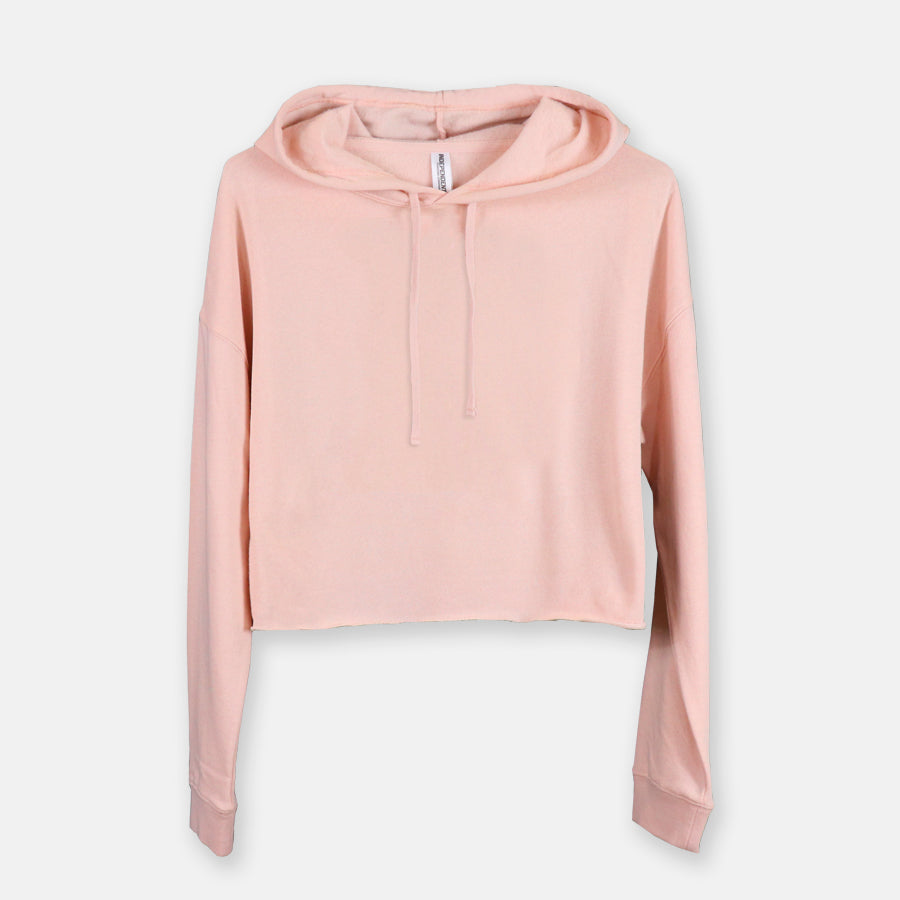 Women's Cropped Sweatshirt Indep. Trading Co AFX64CRP