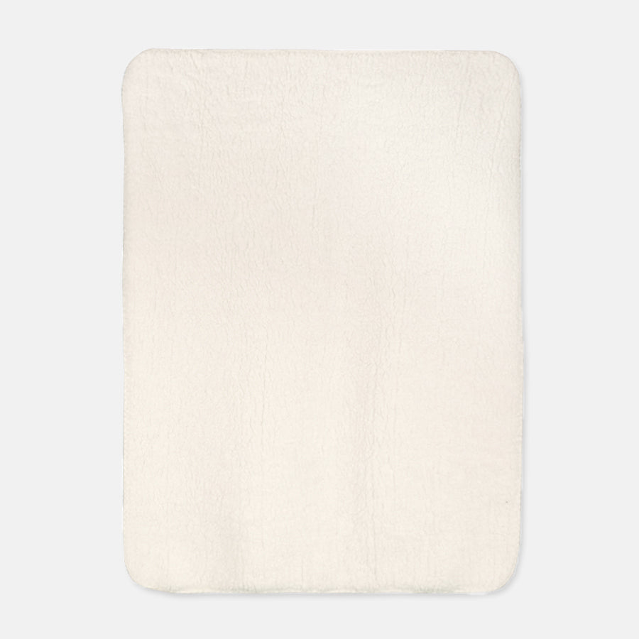 "Sherpa Blanket - 30"" x 40"" (Cream)"