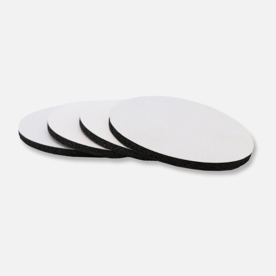 Coaster Neoprene Back (Round) 4PK