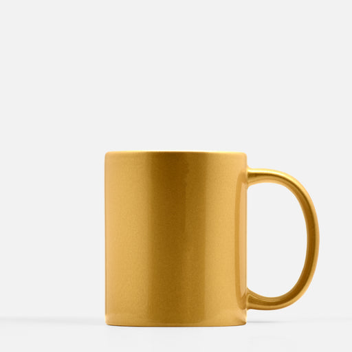 drop ship gold mug