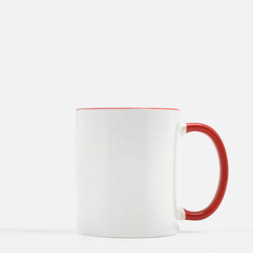 Mug 11 oz. (Red + White)