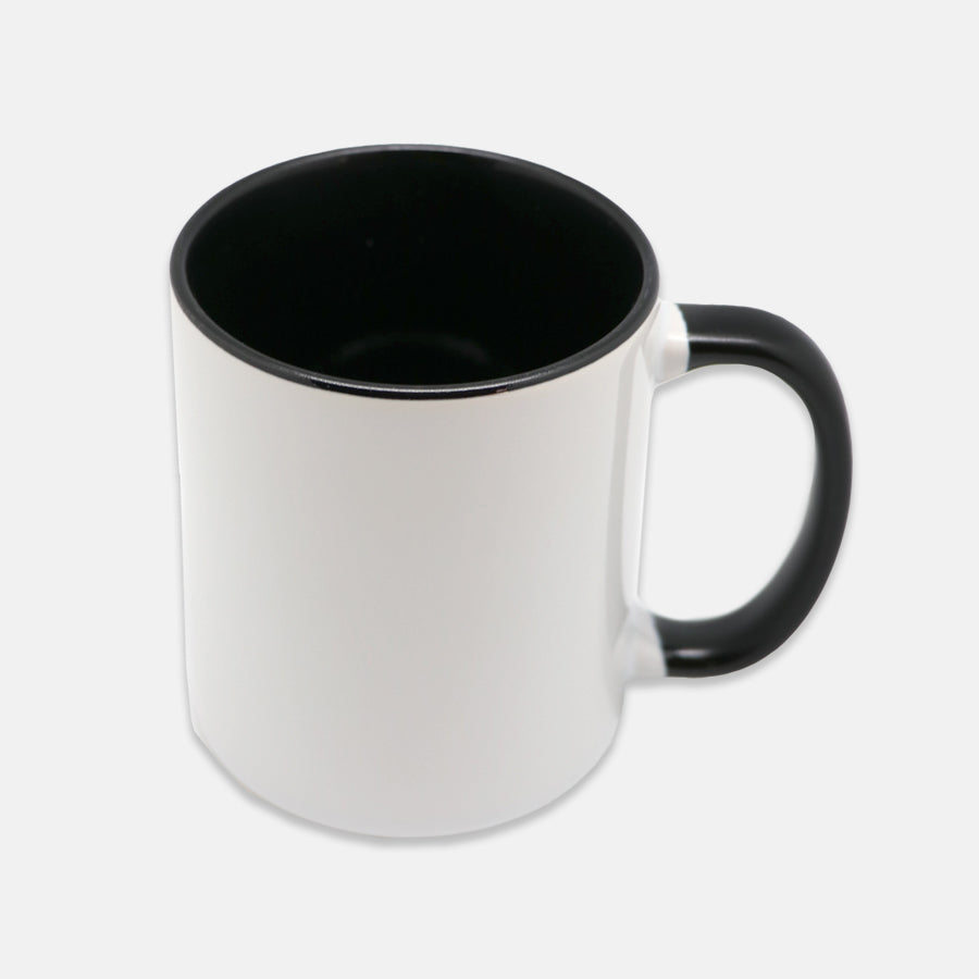 Mug 11 oz. (Black + White)