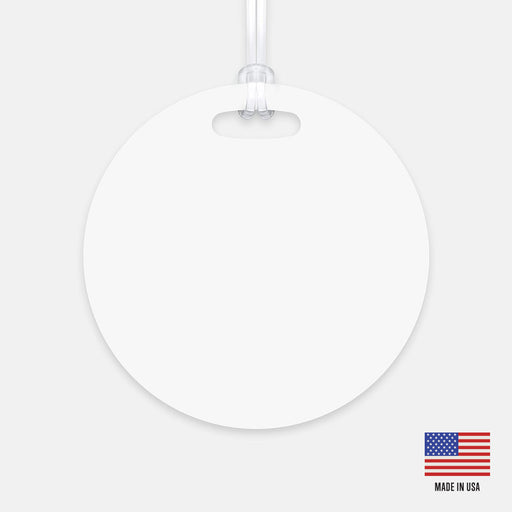 Luggage Tag (Circle)