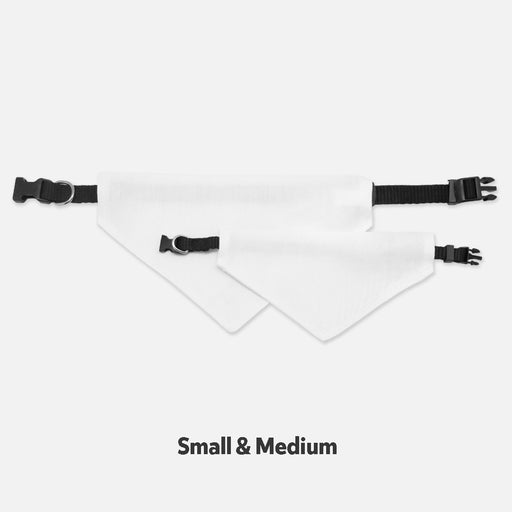 Collar Pet Bandana (Sm & Med)