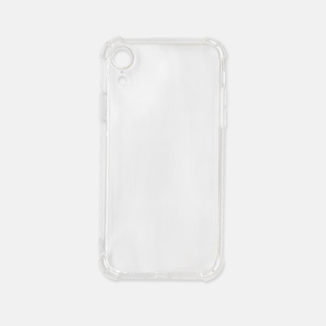 iPhone XR Clear Case — Printed Mint