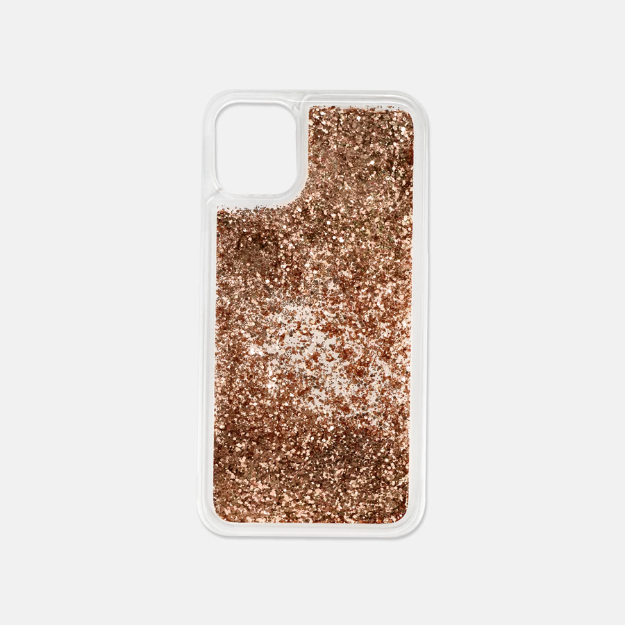 iPhone 11 Liquid Glitter Case