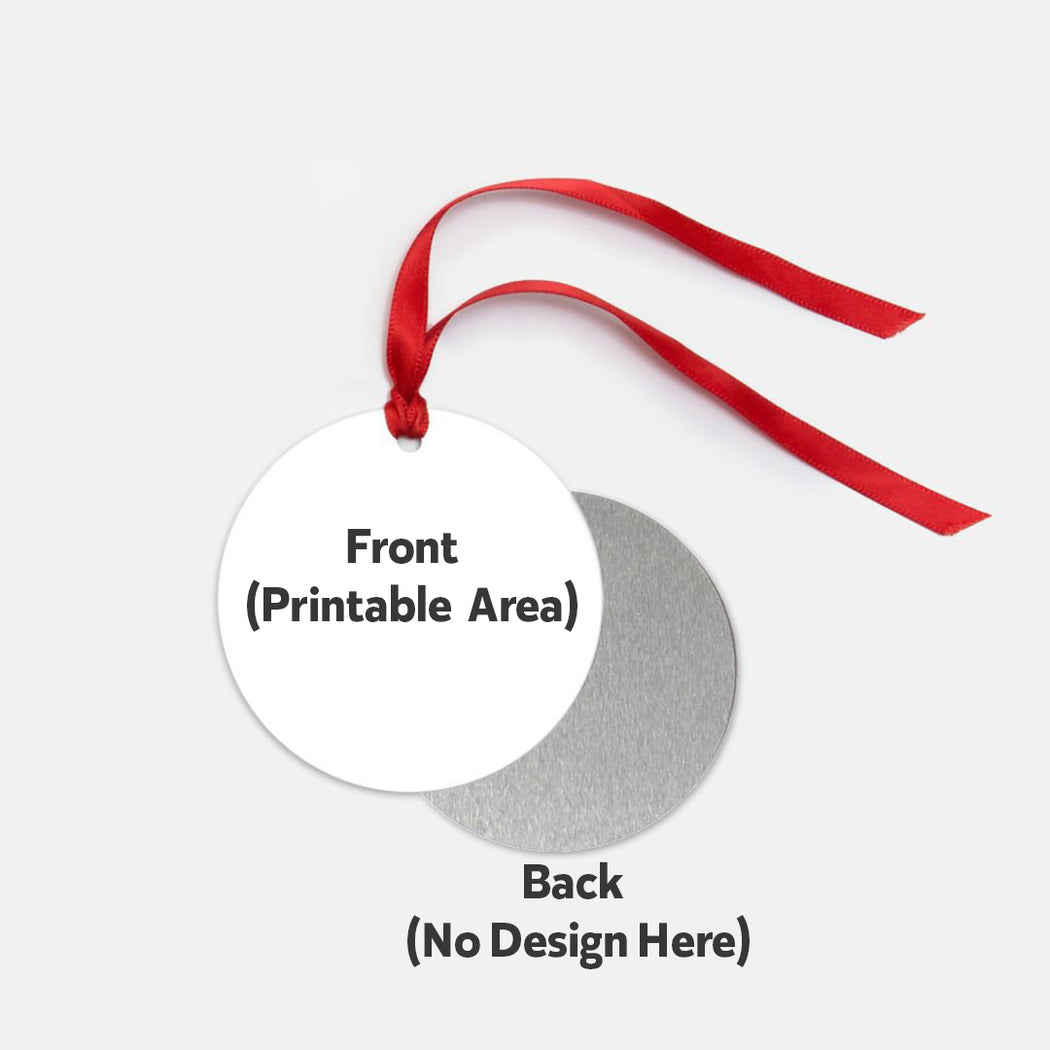 Ornament - One-Sided (Round)