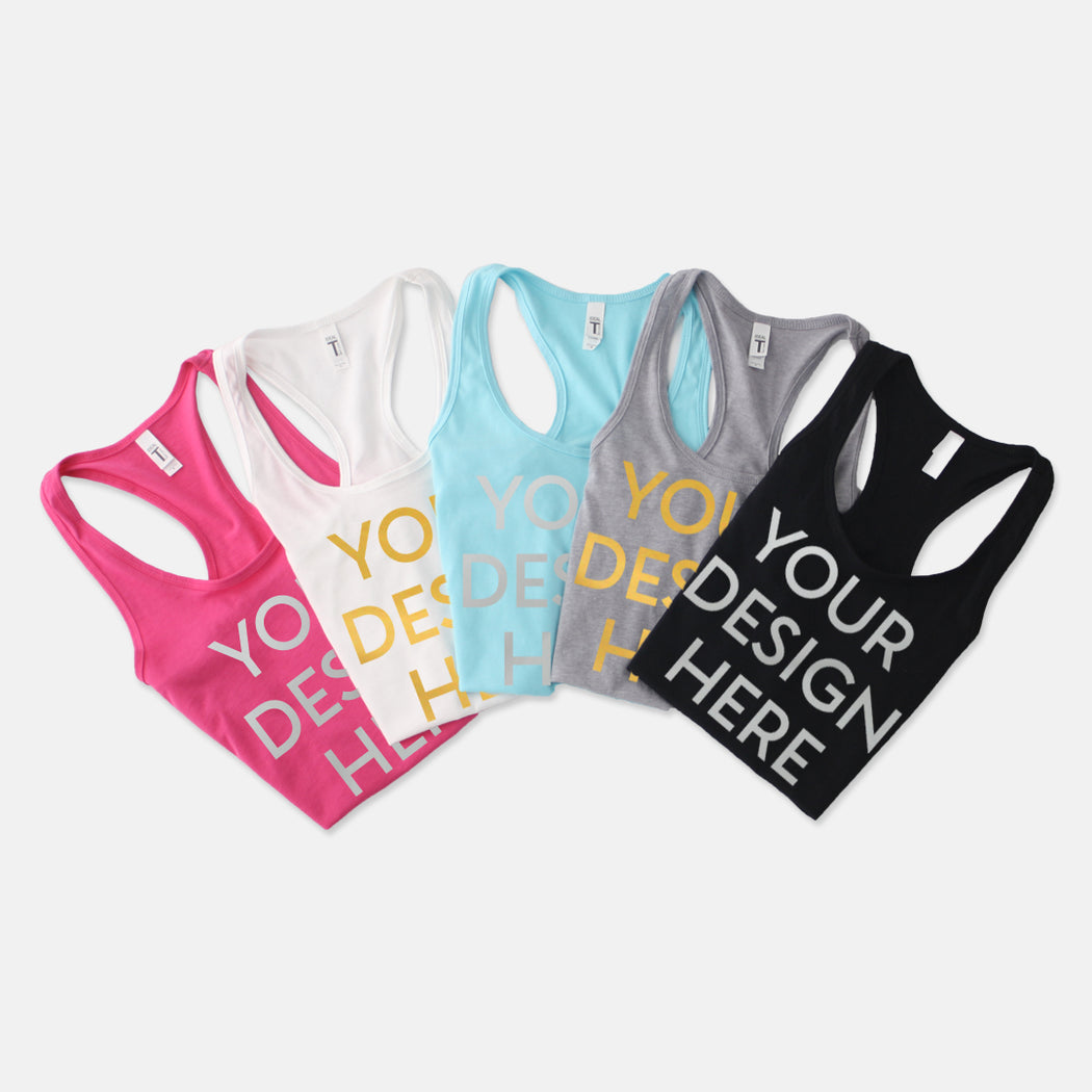 Women's Racerback Tank Next Level 1533 (Foil)