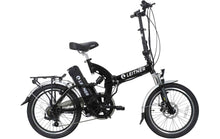 Load image into Gallery viewer, Folding Electric Bike Leitner SuperT Black
