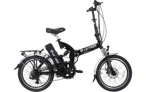 Folding Electric Bike Leitner SuperT Black