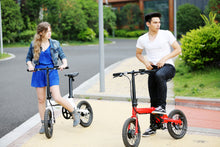 Load image into Gallery viewer, Leight-Weight-Folding-Electric-Bike